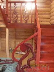 Деревянная лестница SW-4