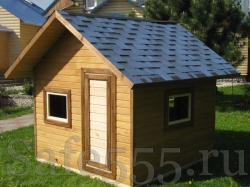 Деревянный домик для детей HW3