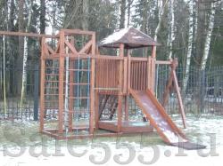 """Детская площадка из дерева """"Лиственница"""" HW5"""