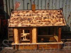 Детский деревянный домик HW1