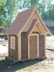 Детский домик для дачи HW4