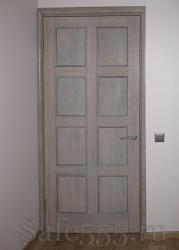 Дверь беленый дуб DW-5