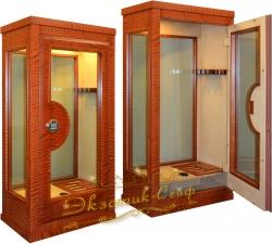 Эксклюзивный сейф витрина ES-2028 EL Секвойя