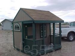 Игровой домик из дерева HW2
