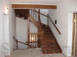 Лестница из дуба SW-2