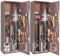 Металлический шкаф для оружия Ястреб