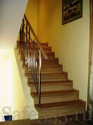 Отделка бетонной лестницы SW-3