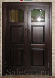 Распашная дверь цвет венге DW-4