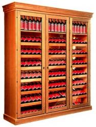 Шкаф из дерева для хранения вина W-270