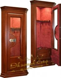 Угловой сейф со стеклом ES-1908 EL