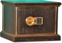 Элитный сейф с деревянной отделкой ASK-30 DEL с патиной