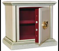 Элитный сейф с деревянной отделкой ASK-46 DEL с патиной