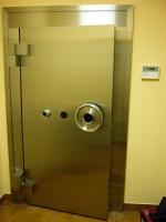 Дверь бронированная банковская SHINJIN 8801/1100