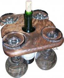 Держатель для фужеров вина WS-1