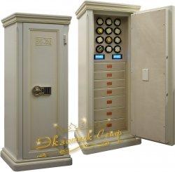 Огне-взломостойкий сейф для часов D1212EL