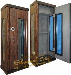 Оружейный сейф-витрина D2012 EL Grey