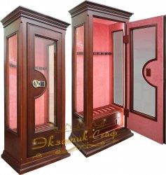 Оружейный сейф-витрина D2013 EL с подсветкой