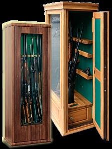 Оружейные сейфы с бронестеклом